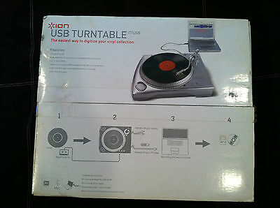Ion Usb  Turntable With Rca Input Brand New - Box Never Opened