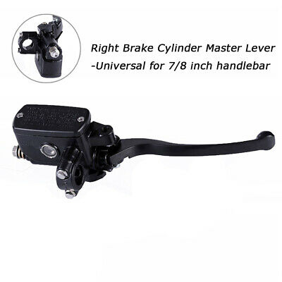 Motorcycle Scooter Front Right Hydraulic Brake Master Cylinder Clutch Lever 7/8""