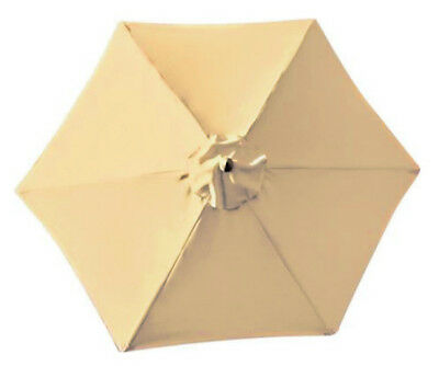 CANOPY ONLY for 2m Parasol/Umbrella - 6 Spoke - Water Resistant - Argos