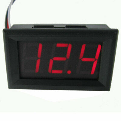 LCD DC 0-30V Red LED Panel Volt Voltage Meter Digital Voltmeter Car Motorcycle