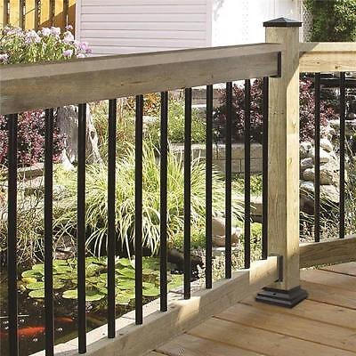 """Nuvo Iron RDPS36 ROUND GALVANIZED STEEL BALUSTER 10/PACK 3/4"""" X 36"""" LENGTH 10PK"""