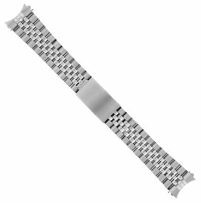 Jubilee Watch Band Bracelet For Rolex Datejust 62510H Heavy 20Mm Stainless Steel