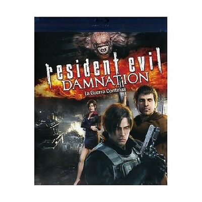 Resident Evil - Damnation Cartoni Animati Blu-Ray Nuovo - Sony Pictures-185674