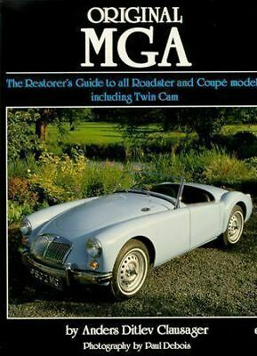 Original MG MGA The Restorers Guide 1500 1600 MKII TWIN CAM BUYER'S GUIDE BOOK
