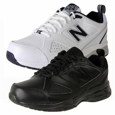 New Genuine New Balance Men's Leather Crosstrainer 624V4 Wide X-Wide Cheap