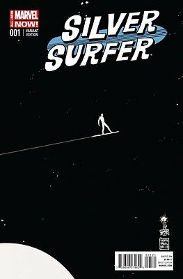 Marvel Silver Surfer #1 Variant Photo Poster Mancave Game Room Comic Book Decor