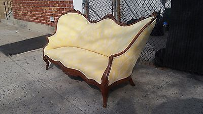 Antique Victorian Style Settee