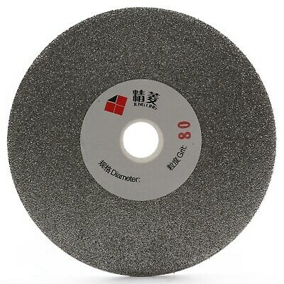 "5"" inch 125mm Grit 80-3000 Diamond Coated Flat Lap Disk Grinding Polishing Wheel"