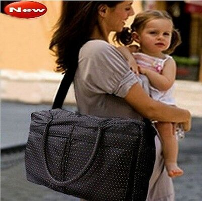 Baby Designer Diaper Bag Large capacity Nappy Bag Set For Mummy