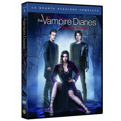 Cofanetto Vampire Diaries (The) - Stagione 04 (5 Dvd) Serie Tv Dvd Nuovo-4054