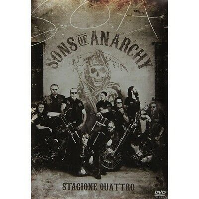 Cofanetto Sons Of Anarchy - Stagione 04 (4 Dvd) Serie Tv Dvd Nuovo - 20T-8354