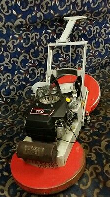 "Phoenix Titan Twin 24"" dual pad propane floor buffer burnisher with Kawasaki 17"