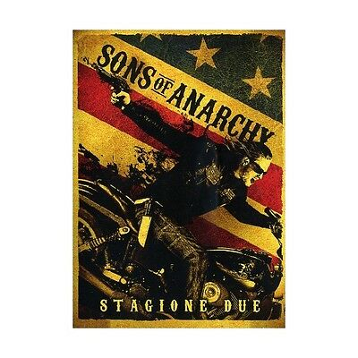 Cofanetto Sons Of Anarchy - Stagione 02 (4 Dvd) Serie Tv Dvd Nuovo - 20T-34285