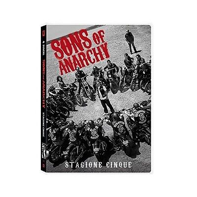 Cofanetto Sons Of Anarchy - Stagione 05 (4 Dvd) Serie Tv Dvd Nuovo - 20T-102503