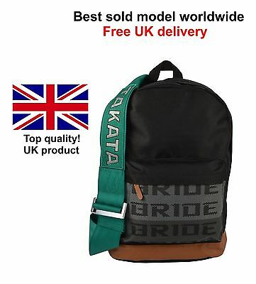 Bride Takata backpack bag JDM green straps great quality- bestseller-