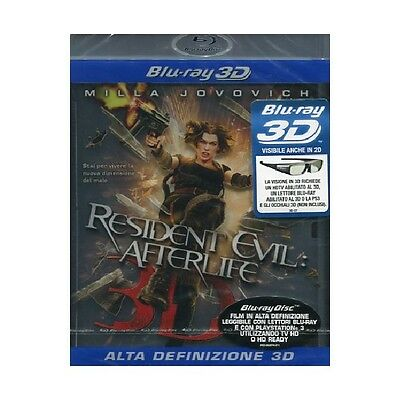 Resident Evil - Afterlife (3D) Film Blu-Ray Nuovo Di Paul W.s. Anderson -183931