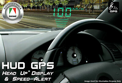 Latest 2017 Head-Up Display Kit - Hud - Internal Gps 12 Volt Digital Speedo