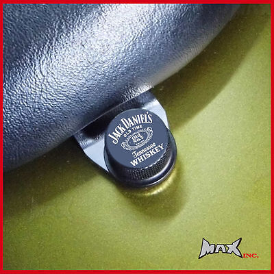 Harley Davidson Seat Bolt with Jack Daniels Logo to Suit Years 1973 to 1995