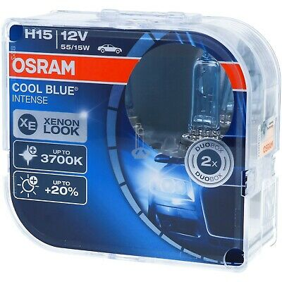 H15 OSRAM Cool Blue Intense - Xenon-Look Scheinwerfer Lampe DUO-Pack NEU