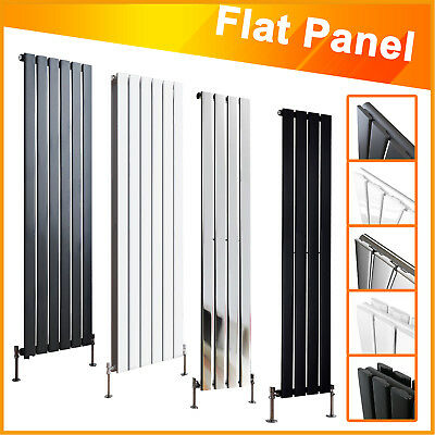 Vertical Radiator Designer Flat Panel Column Bathroom Heater Central Heating New