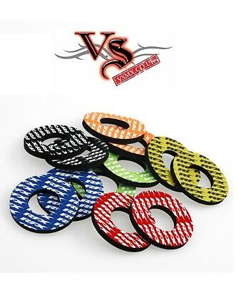 RFX Motocross Grip Donuts Thumb Savers Orange