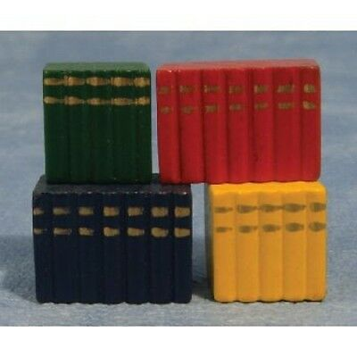 Dolls House Miniatures 1/12th Scale Blocks Of Books Dolls House Accessory (D024)