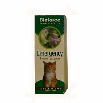 Bioforce Emergency Flower Essence For Animal To Help With Calmness 30ml