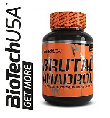 Biotech USA Brutal Anadrol 90 caps. Muskelaufbau TST Booster AAKG  free shipping
