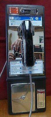 New Protel 7010 Pay Phone Payphone Home business vending Mans Room GTE Coins