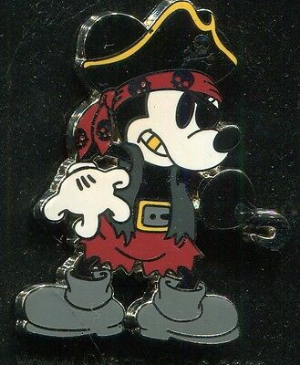 Pirate Mickey Mouse Disney Pin 102851