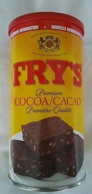 Fry's Premium Cocoa Canadian Favorite 2 containers 227g each, always fresh