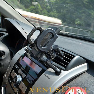 360° Car Air Vent Mount Cradle Holder Stand For Cell Mobile Smart Phone GPS MP4