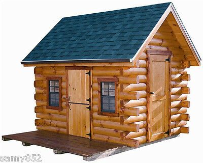 NEW!! Log Cabins Shelters Shacks Shanties Cottages e-Books On Disc