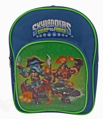 Boys Skylanders Swap Force School Bag Backpack Rucksack Sports Arch Back Pack