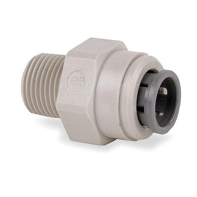 John Guest Push Fit Straight Adaptor - Tube OD x NPTF Male Thread