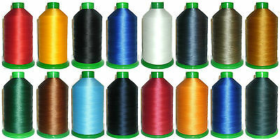 Strong Bonded Nylon Thread 30'S, 2300Mtrs, Ipcabond Threads, Assorted Colours