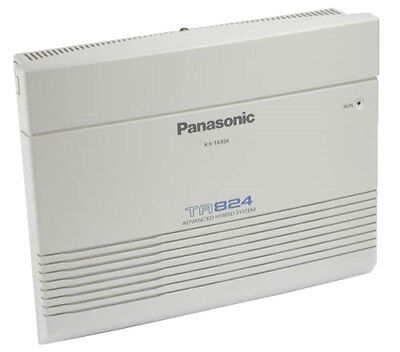 Panasonic KX-TA824 Advanced Hybrid Telephone System New