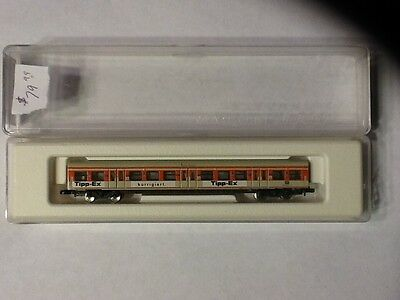 "Marklin Z Scale 87970 Passenger Car S-bahn ""Tipp-Ex"" *NEW $0 SHIPPING"