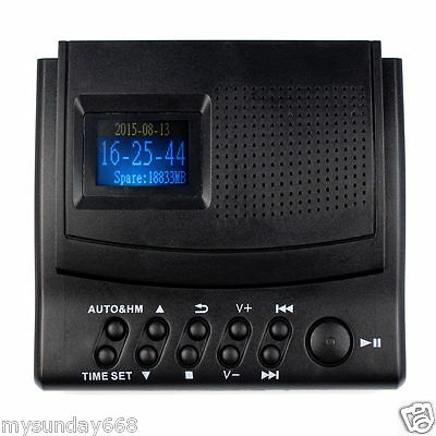 Telephone Voice Recorder Phone Call Monitor + LCD Display 220V Top Quality