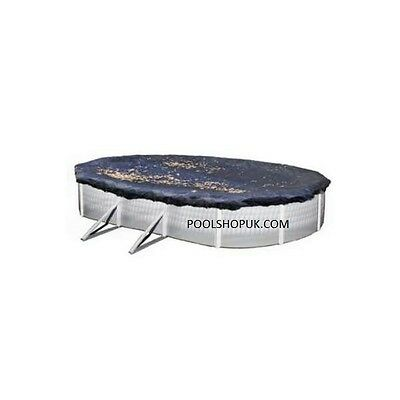 12ft x 18ft Oval Above Ground Pool Winter Debris Cover
