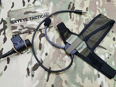 Selex TASC-III Headset with Amplify U-94/A PTT Package. Kenwood Motorola ICOM