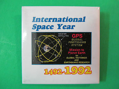 Authentic NAVSTAR GPS MISSION II-13 100 ON-ORBIT OPERATING YEARS SPACE PATCH