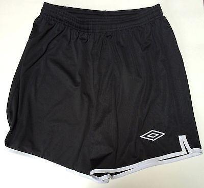 Youth Boys/Girls Black Umbro Polyester Athletic Shorts Size Small New With Tags