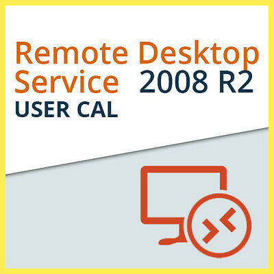 Microsoft Remote Desktop Services 2008 R2 - 1x USER CAL