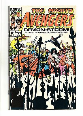Avengers Vol 1 No 249 Nov 1984 (VFN+ to NM-) Marvel, Modern Age (1980 - Now)