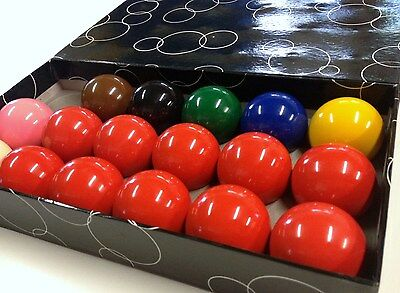 SNOOKER BALLS *NEW SET* 1 & 7/8 inch  RRP $49.90  (Australian Seller)