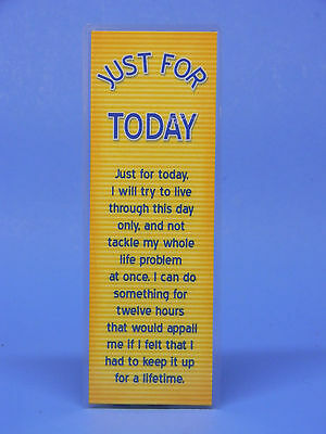 Sobriety Bookmark - Just For Today