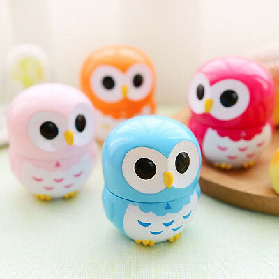 Colorful Owl Kitchen Timers 60 Minutes Cooking Mechanical kitchen Decoration