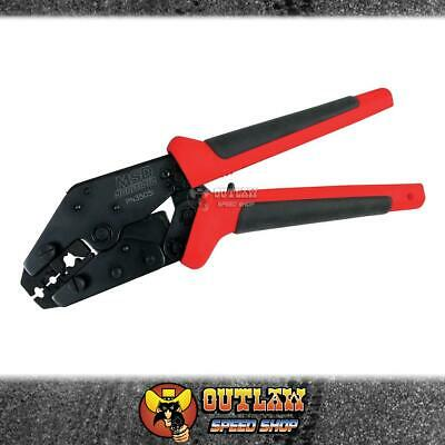 msd crimping tool for spark plug terminals & ht leads ratchet style quality