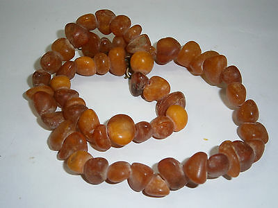 ANTIQUE 20.5gr OLD BEAUTY BRACELET BANGLE REAL AMBER BUTTERSCOTCH